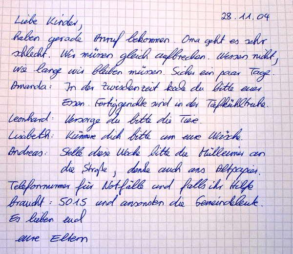 Brief Für Liebe : Unterwegs zum fest matthäus  inspirierende